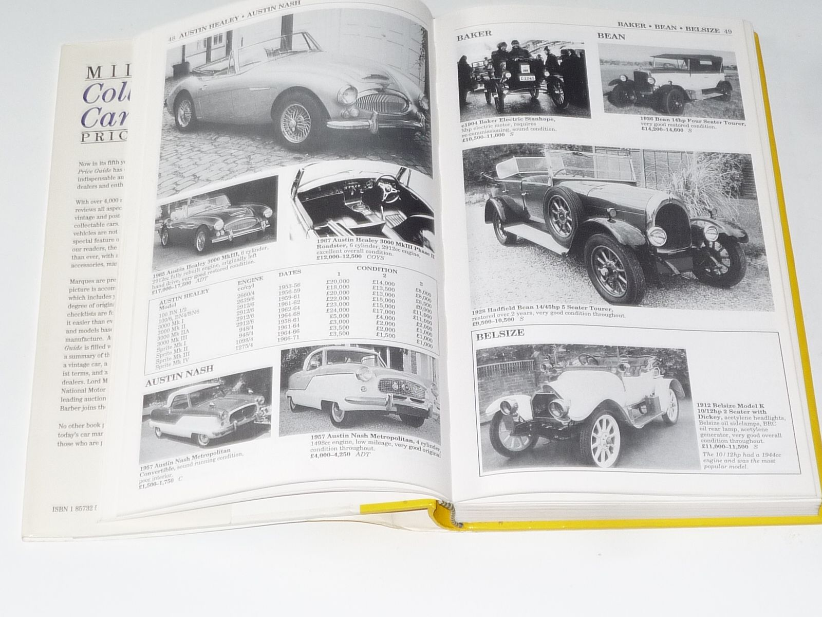 Miller s Collector s Car Price Guide 1995 96 ex lib